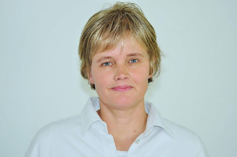 Annette Köhne-Dolcinelli leitet des Holzkompetenzzentrum Rheinland