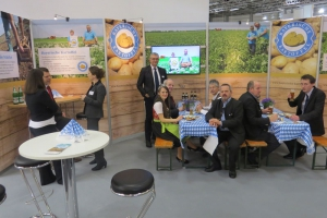 Zum zweiten Mal ist die Bayerische Kartoffel auf der Fruit Logistica in Berlin präsent.