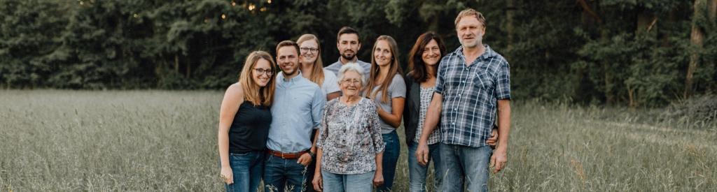 Familien Küberl und Volkert