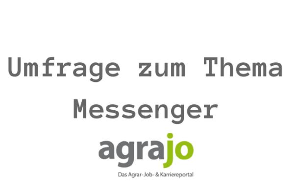 Umfrage zum Thema Messenger und Newsletter