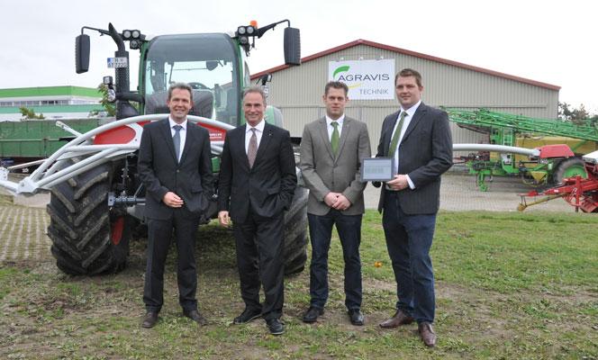 Agravis investiert in Landwirtschaft 4.0