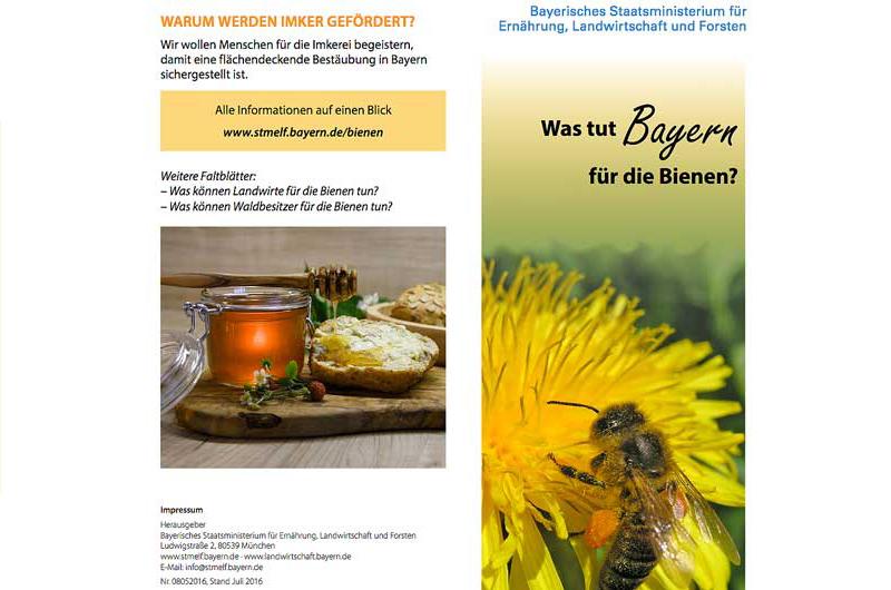 Bienenland Bayern